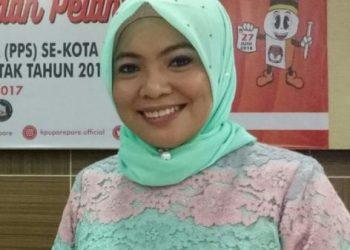 Ketua KPUD Parepare, Nur Nahdiyah.