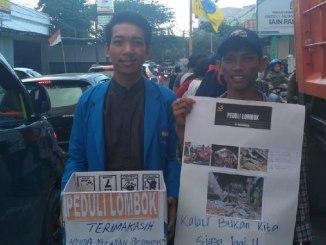 Doa dan Penggalangan Dana PMII Parepare untuk Gempa Lombok
