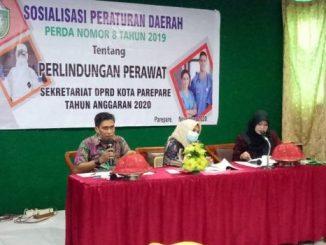 Sosialisasikan Perda Perlindungan Perawat, Legislator Perindo ini Edukasi Warga Memahami Kerja-kerja Perawat
