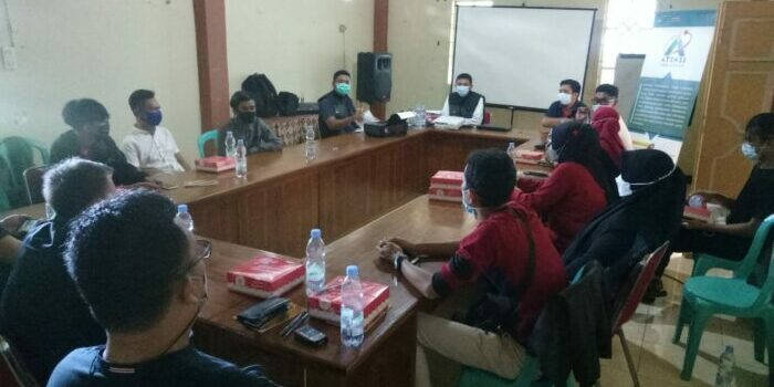 Perkuat Penanganan ODHA, Loka Pangurangi Takalar Sosialisasi di Parepare