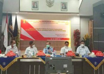 Buka Kegiatan Telaah Kebijakan dan Program Pemasyarakatan, Kakanwil Kemenkumham Sulsel Harap Penguatan Tupoksi PK Diutamakan