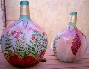 Decoración garrafas