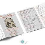 graphiste agde - menu restaurant - pika com - communication agde