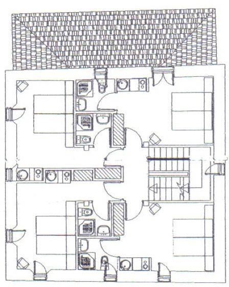 Plano primera planta pikatza enea