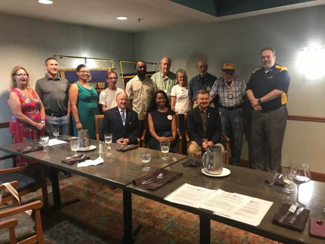 Pikesville Rotary Installs New President