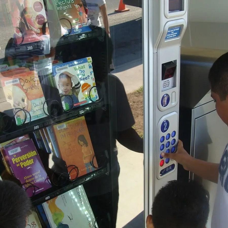 book lending library