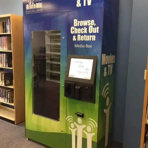media vending machine
