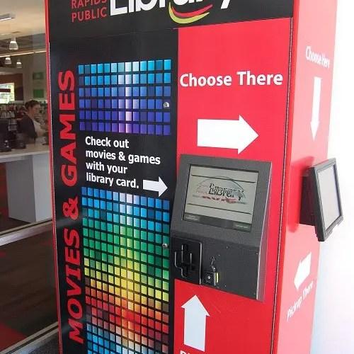 media vending kiosk