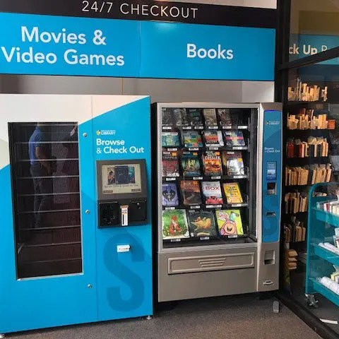 video game media box for libraries