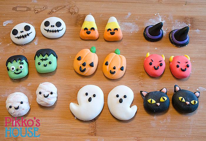 2015 Halloween Cupcake Figures
