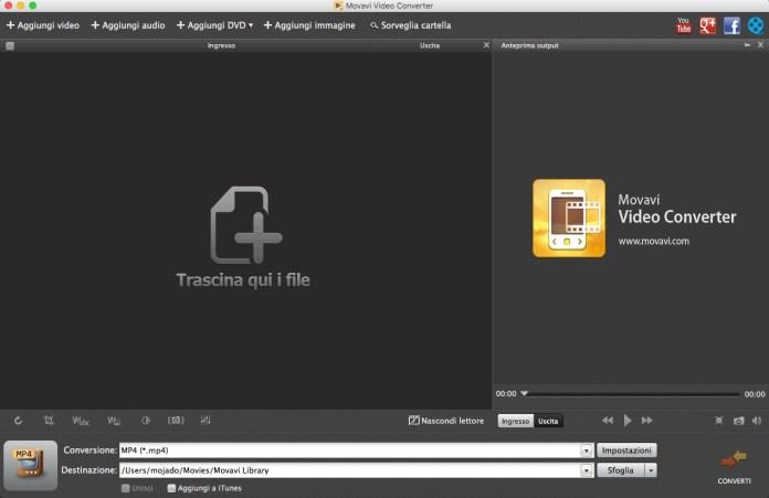 [MAC] Movavi Video Converter for Mac v6.2.1 - Ita