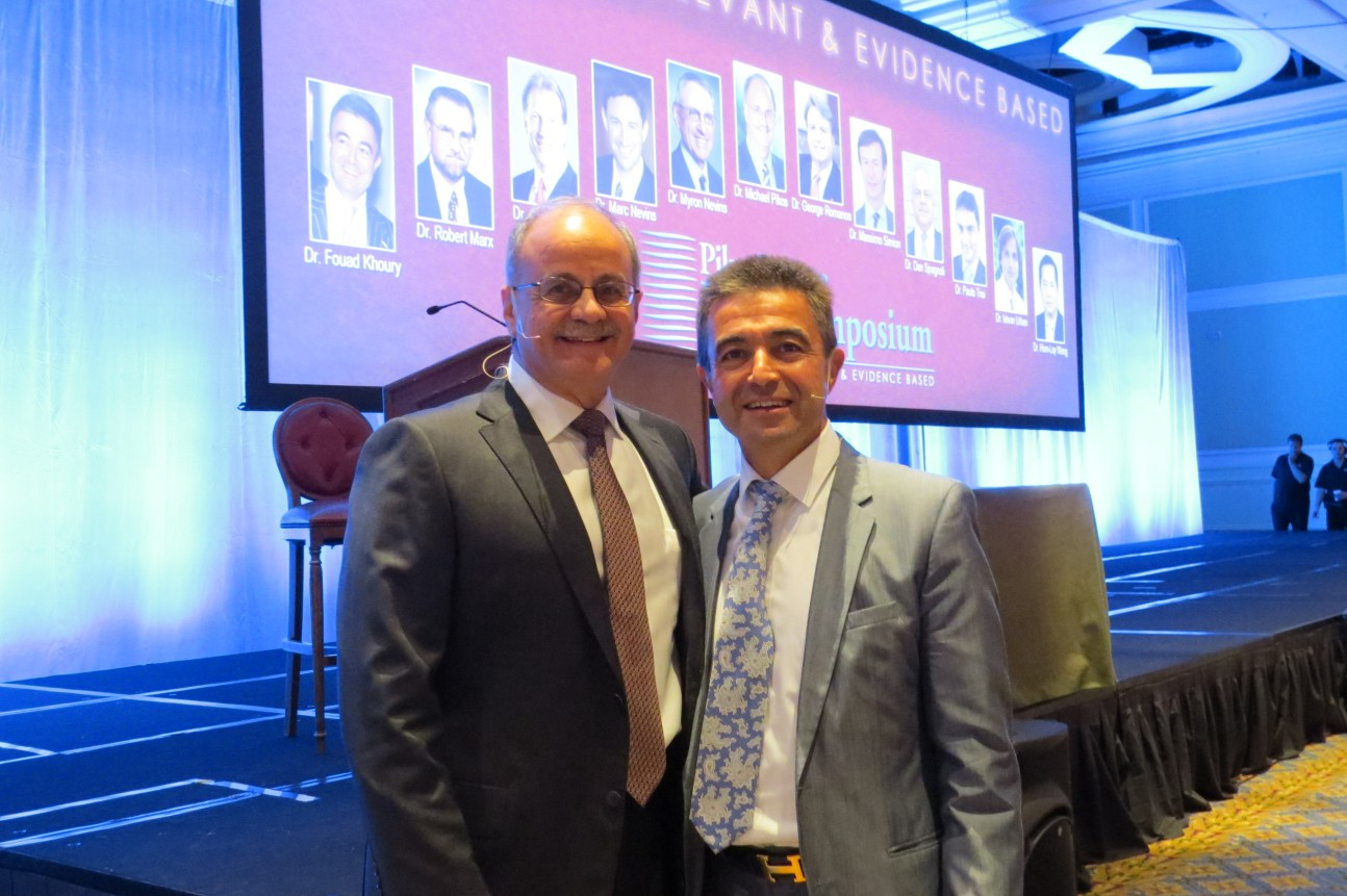 Dr. Michael Pikos and Dr. Fouad Khoury
