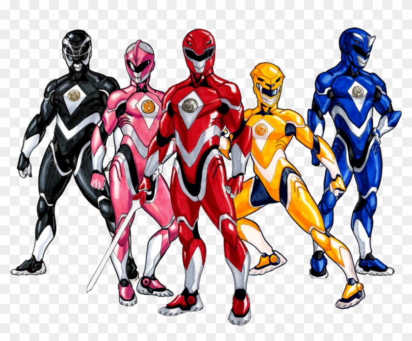 Click For Full Size Power Rangers 5th Birthday Shirt Clipart 1728007 Pikpng
