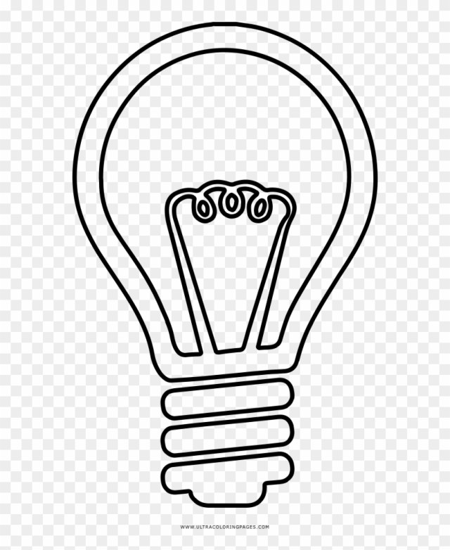 Valuable Idea Light Bulb Coloring Page Ultra Pages - Incandescent