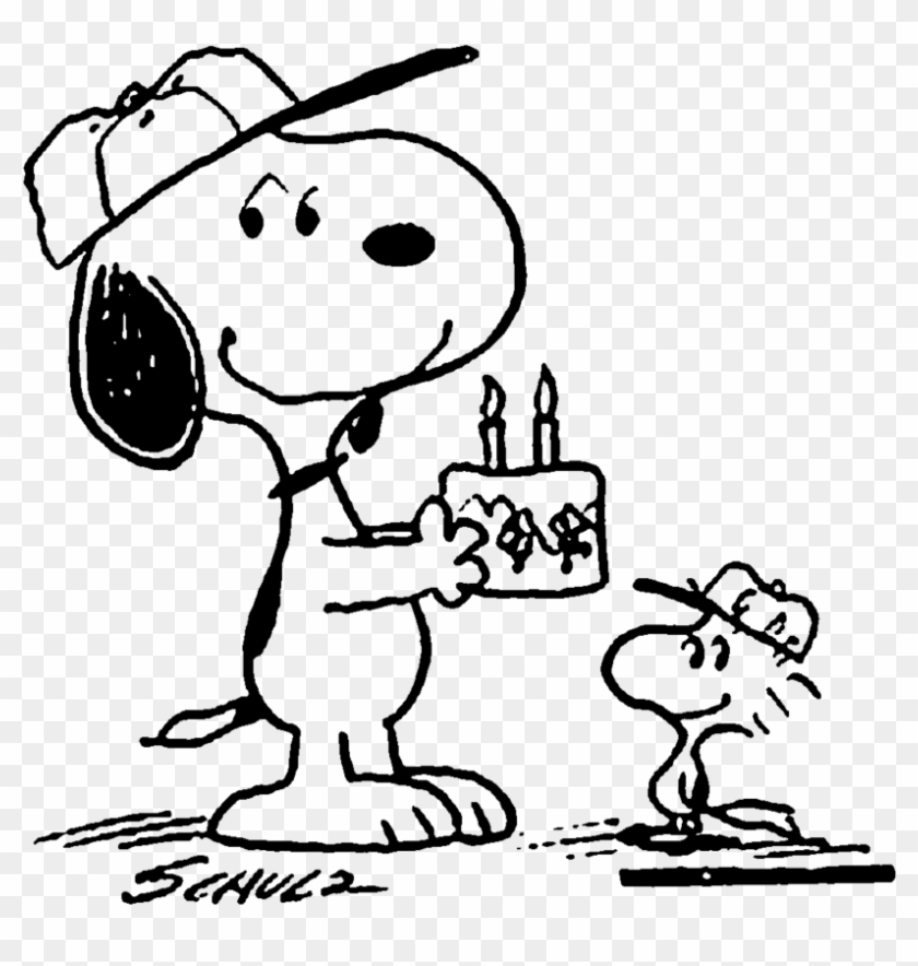 Snoopy Birthday Png Snoopy Happy Birthday Png Clipart 21638 Pikpng