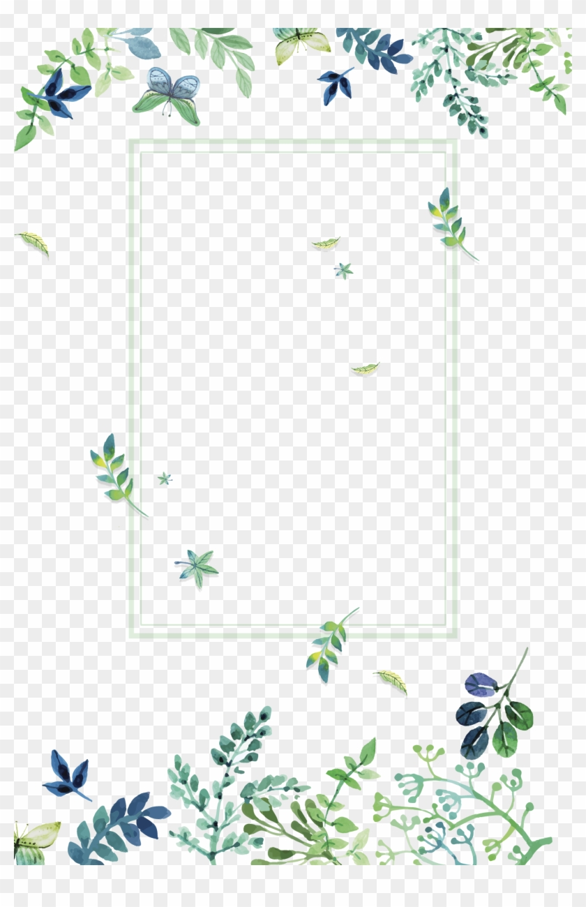 Flores Wallpaper Iphone Wallpaper Wallpaper Backgrounds Green Watercolor Floral Png Clipart 2294383 Pikpng