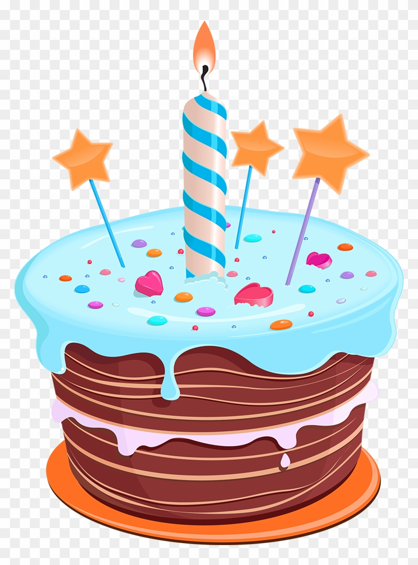 Birthday Star Png Download Birthday Cake Clipart Transparent Background 2763983 Pikpng