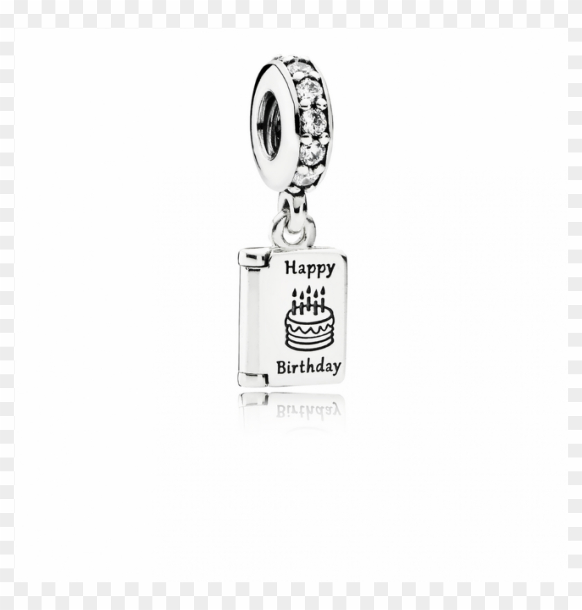 Pandora Birthday Wishes Dangle Charm Clear Cz Glass Bottle Clipart 2952165 Pikpng