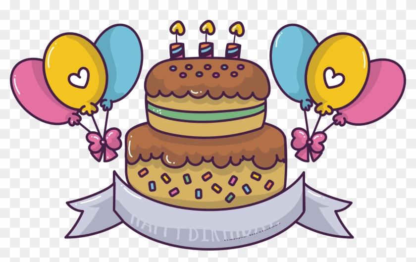 Torte Birthday Cake Chocolate Cake Cuisine Png Image Cute Birthday Cake Cartoon Clipart 3730519 Pikpng