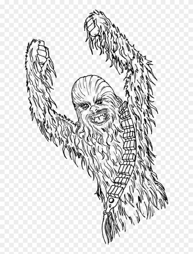 Chewbacca Coloring Pages Coloringsuite Com Inside Neo - Chewbacca