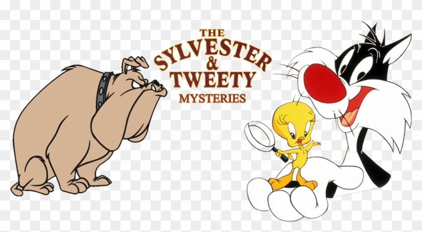 Sylvester Tweety Mysteries Image Tweety Bird And Sylvester The Cat Svg Clipart 4549164 Pikpng