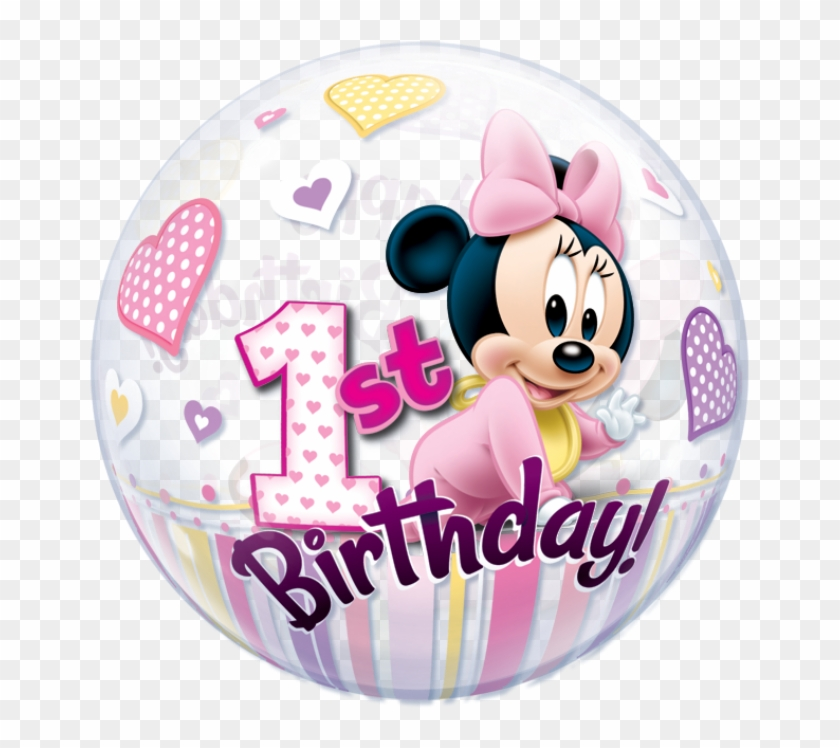 Minnie Mouse 1st Birthday Disney Minnie Mouse 1st Birthday Clipart 5091326 Pikpng