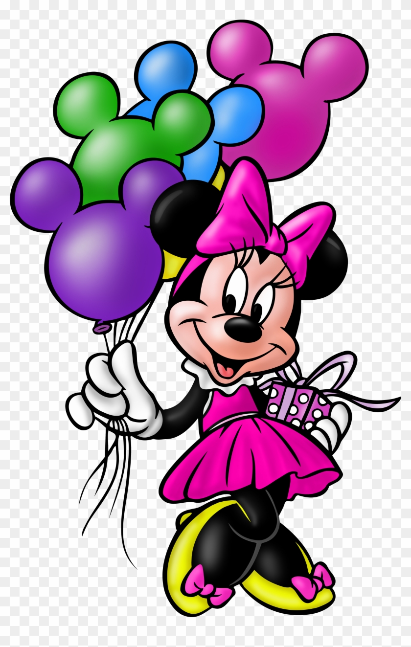 5235 X 8000 10 Clipart Minnie Mouse Happy Birthday Png Download 693817 Pikpng
