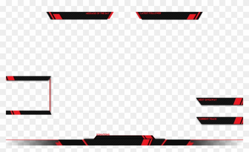 Live Stream Overlay Template Png Clipart 713371 Pikpng