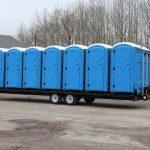 14 toilet trailer