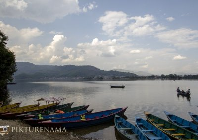 Earth, Water, Fire and Air explored at 4 different places for Thomas Cook by Pikturenama Phewa Lake at Pokhara