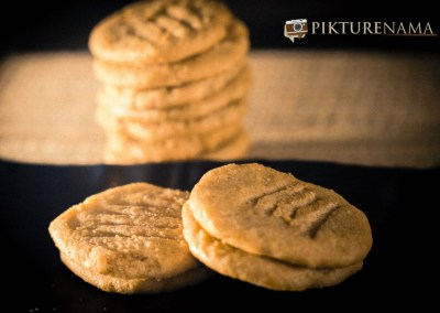 Ready to eat peanut butter cookies