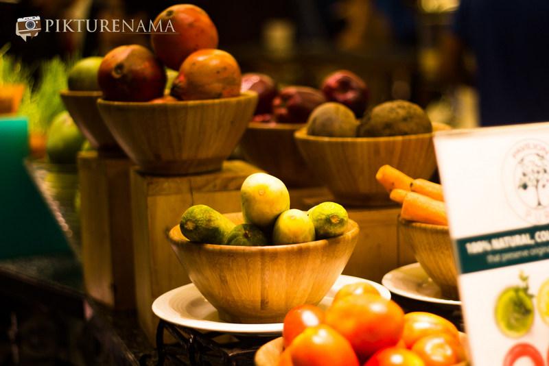 ITC Sonar Kolkata fruits at Pavilion pure