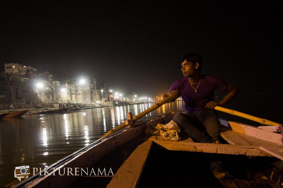 Varanasi ghats by nights by pikturenama - 10
