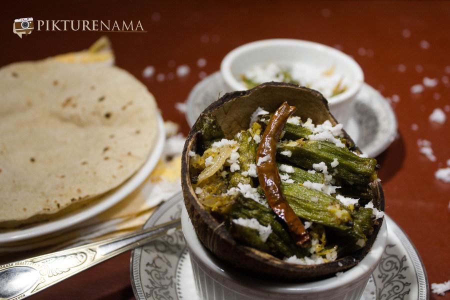 Aam Kasundi Bhindi or Okra in mango mustard sauce by Pikturenama 12