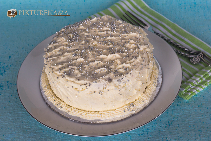 Carrot Cake with cheesy creamy frosting