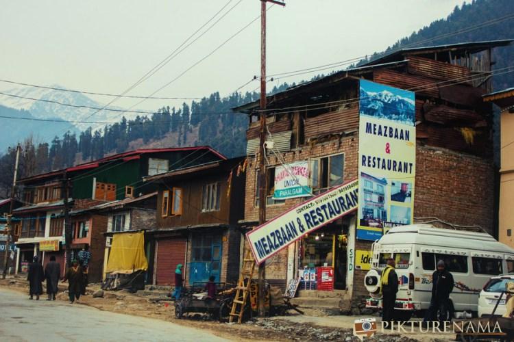 Pahalgam town