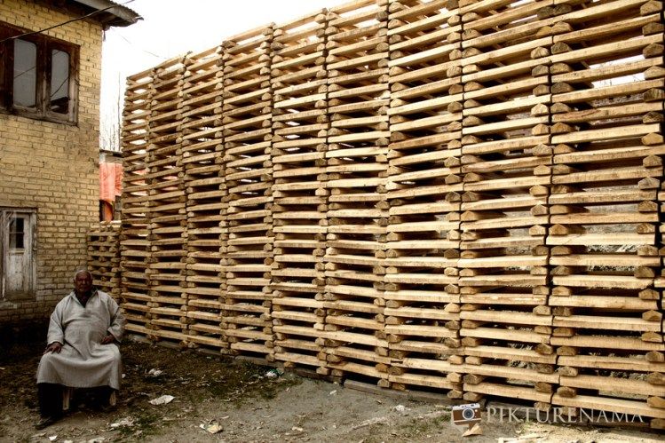 The owner of Kashmir willow bat manufacturing unit