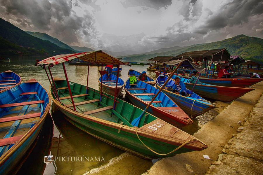 Phewa Lake Pokhara boat ride - 13