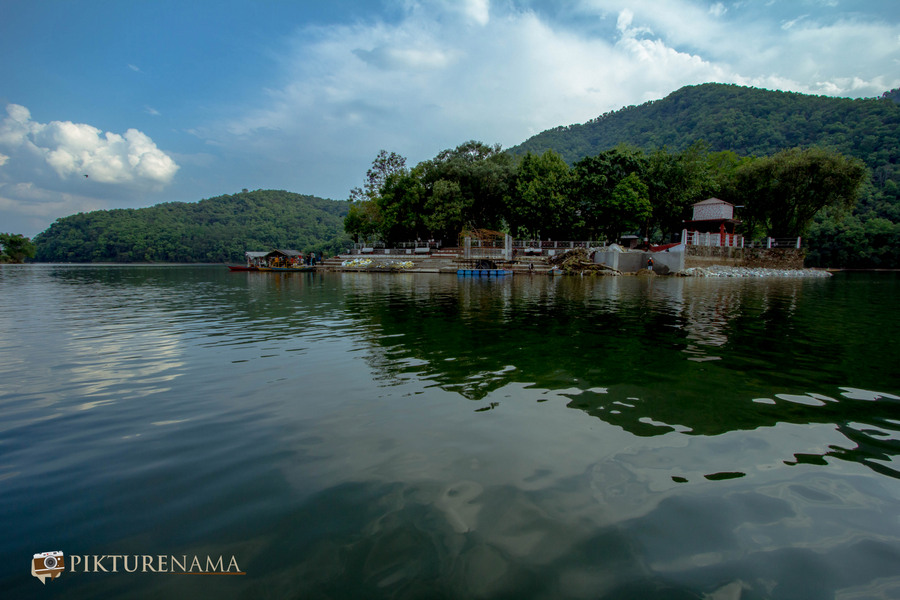 Phewa Lake Pokhara boat ride - A
