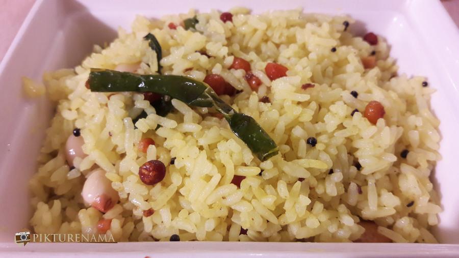 Vizag food trail lemon rice