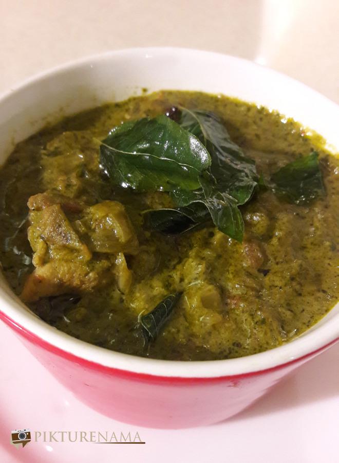 Vizag food trail curry leaf chicken