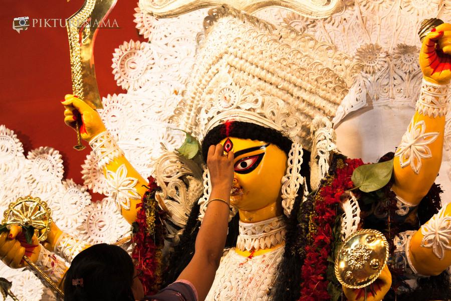 Kurlotsavkaptures by Kurlon and celebrations of Durga Puja