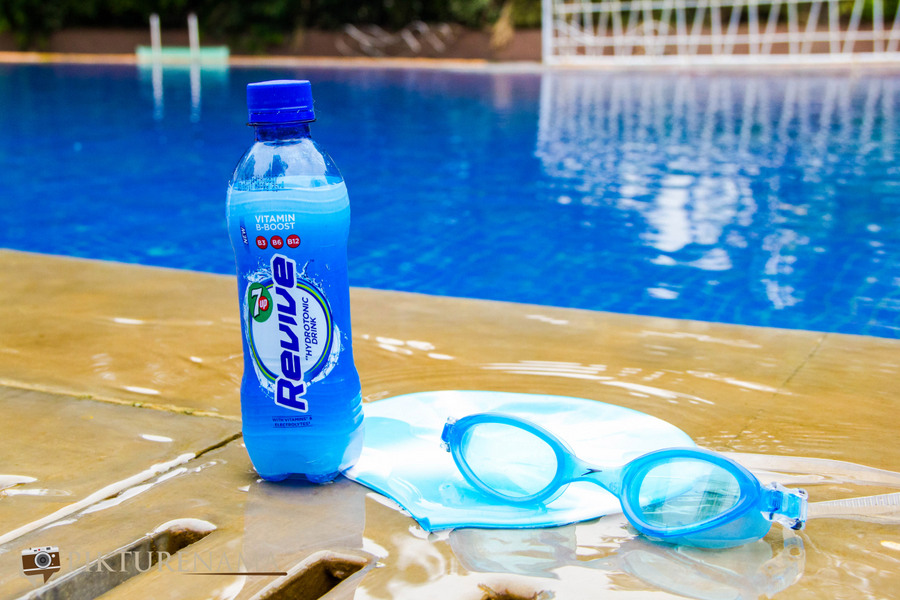 7UP revive after swimming
