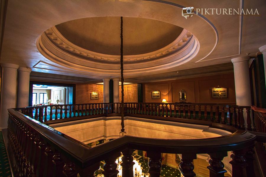 Oberoi Grand Kolkata above the lobby 3