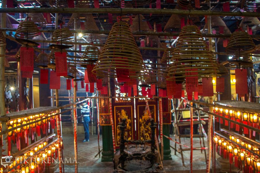 Hong Kong travel plan 6 Man Mao temple