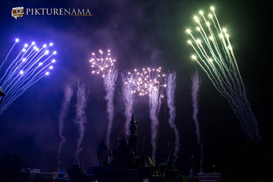 HongKong Disneyland Fireworks 18
