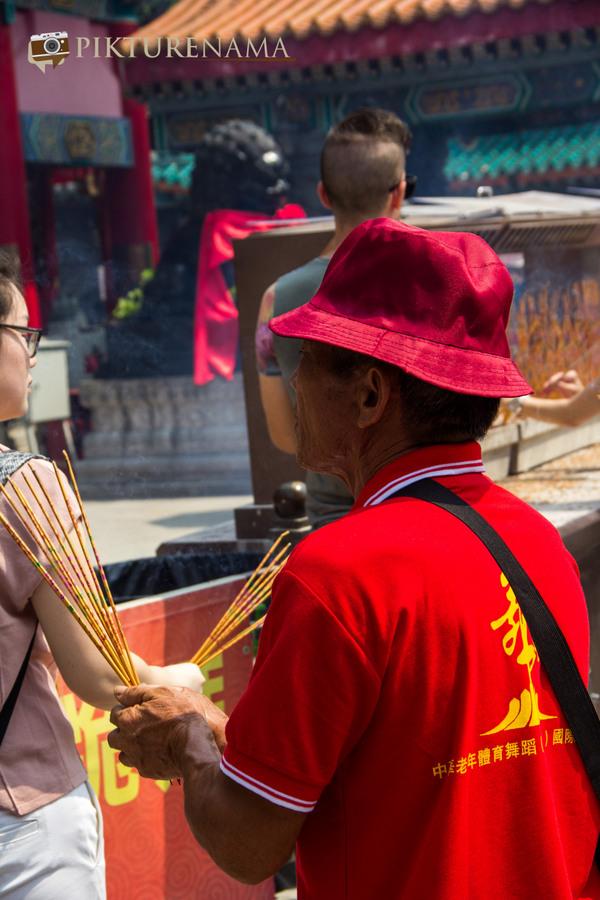 Wong Tai Sin temple HongKong and Man Mo Temple 15