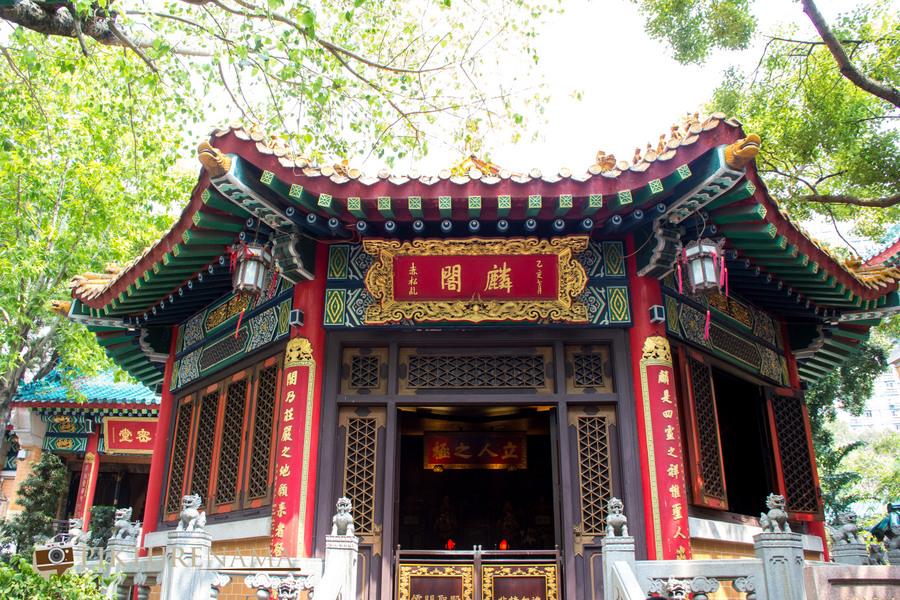 Wong Tai Sin temple HongKong and Man Mo Temple 25