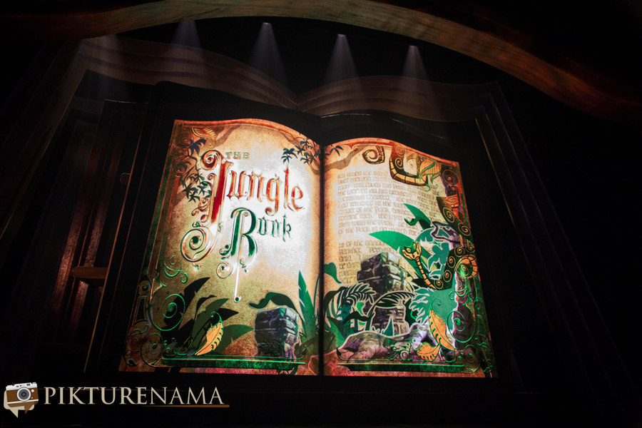 Mickey and the wondrous book jungle book