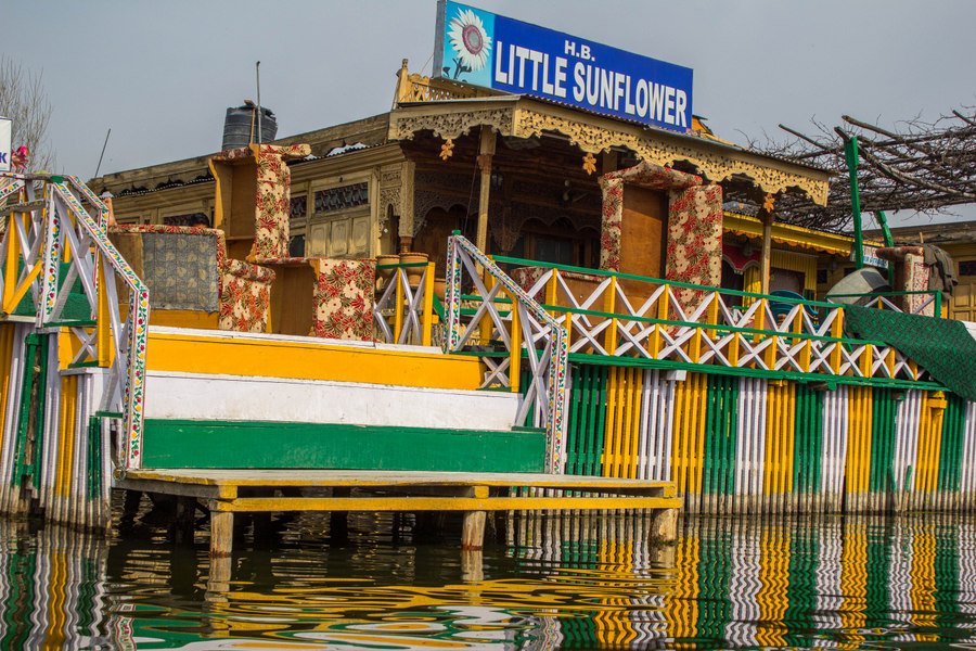 Kashmir Houseboat morning - 4